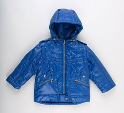 Куртка 3298 синяя для мальчика 3 лет