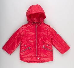 Куртка 3298 красная для мальчика 2 лет