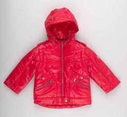 Куртка 3298 красная для мальчика 4 лет