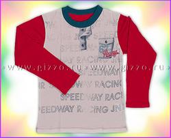 Джемпер с длин.рукавами д/мал 16762 красный