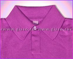 Джемпер-поло вязаный д/мал 10841 фиолет