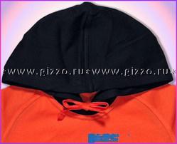 Джемпер с капюшоном д/мал 10982 оранжевый