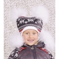 Шапка зимняя Скандинавия для девочки