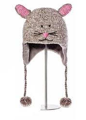 Шапка детская «Мышонок», серая, АК1189
