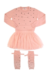 Gaialuna Джемпер+юбка+гетры комплект